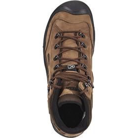 Keen Galleo Mid WP Shoes Herren cognac/dark chocolate